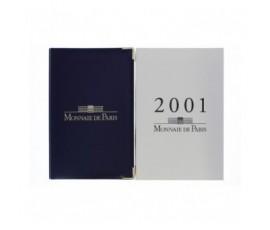 France, Boîte BE 2001, 11 pièces, C10014