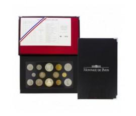 France, Boîte FDC 1989, 14 pièces, C10023