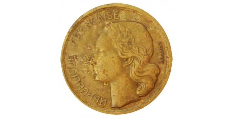 Monnaie, France , 10 francs Guiraud , IVème République, Bronze-aluminium, 1954,, P11033
