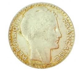 Monnaie, France , 10 francs Turin, IIIème République, Argent, 1937,, P11034