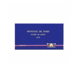 France, Boîte FDC 1975, 9 pièces, C10050
