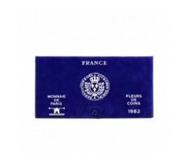 France, Livret FDC 1982, 11 pièces, C10057