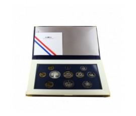 France, Boîte BE 1993, 11 pièces, C10068