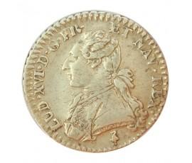Monnaie, France , 1/10 écu aux branches d'olivier, Louis XVI, Argent, 1783, Paris (A), P10191