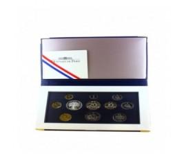 France, Boîte BE 2001, 11 pièces, C10086