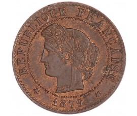 Monnaie, France , 1 centime Cérès, IIIème République, Bronze, 1879, Paris (A), P11053