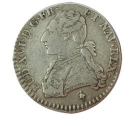 Monnaie, France , 1/10 écu aux branches d'olivier, Louis XVI, Argent, 1785, Paris (A), P10192