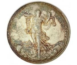 Jeton, Lyon - Courtiers de commerce des Soies, 1866, Argent, J10001