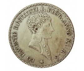 Jeton, Lyon - Agents de change , 1803, Argent, J10007