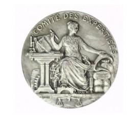 Jeton, Comité des expertises , 1822, Argent, J10052