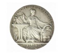 Jeton, Comité des expertises , 1822, Argent, J10055