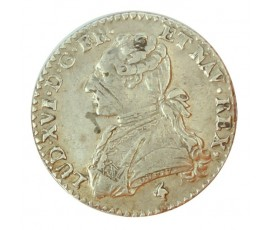 Monnaie, France , 1/10 écu aux branches d'olivier, Louis XVI, Argent, 1782, Paris (A), P10193