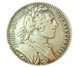 Jeton, Louis XV - Etats de Bretagne - Rennes, 1752, Argent, J10084