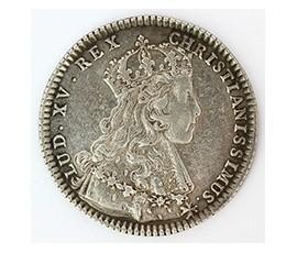 Jeton, Louis XV - Etats de Bretagne - Nantes, 1722, Argent, J10085