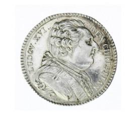 Jeton, Louis XVI - Etats de Bretagne - Rennes, 1788, Argent, J10090