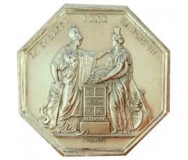 Jeton, Banque de France , N.d., Argent, J10105