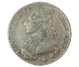 Monnaie, France , 1/5 écu aux branches d'olivier, Louis XVI, Argent, 1783, Paris (A), P10194