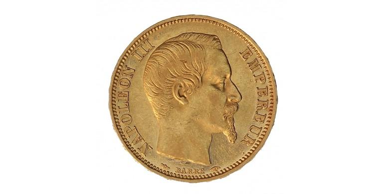 Monnaie, France , 20 francs, Napoléon III, Or, 1853, Paris (A), P11094