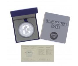 Monnaie, France, 10 Euros BE 10 ans des pièces et billets euros, Monnaie de Paris, Argent, 2012, Pessac, P13077