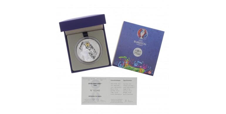 Monnaie, France, 10 Euros BE Le tir, Monnaie de Paris, Argent, 2016, Pessac, P13085
