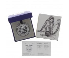 Monnaie, France, 10 Euros BE Année chinoise du singe (2016), Monnaie de Paris, Argent, 2015, Pessac, P13091