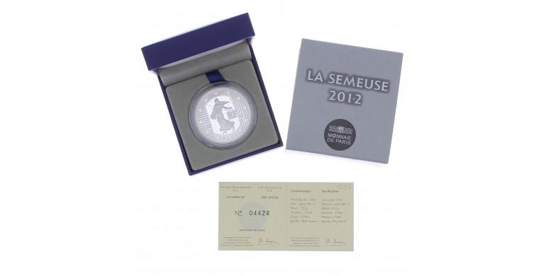 Monnaie, France, 10 Euros BE 10 ans des pièces et billets euros, Monnaie de Paris, Argent, 2012, Pessac, P13104