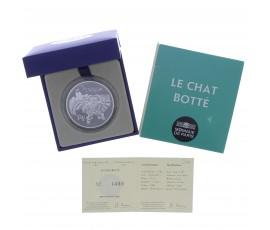 Monnaie, France, 10 € BE Le chat botté de Charles Perrault, Monnaie de Paris, Argent, 2012, Pessac, P13114