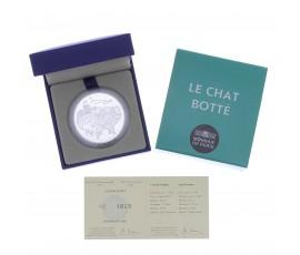 Monnaie, France, 10 Euros BE Le chat botté de Charles Perrault, Monnaie de Paris, Argent, 2012, Pessac, P13115