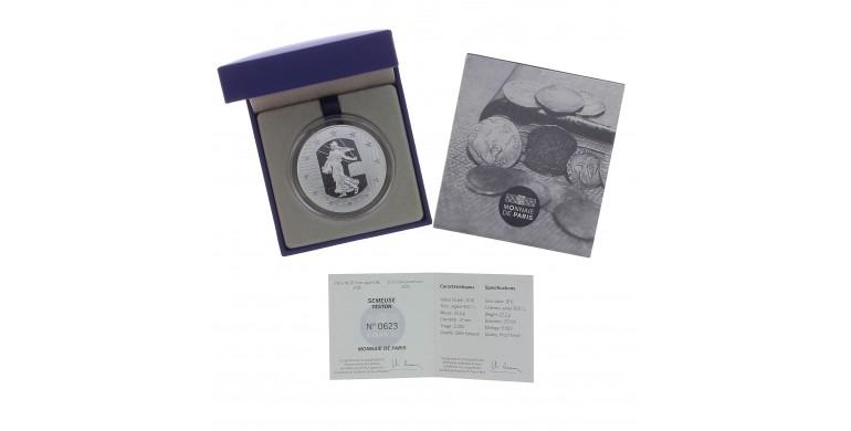 Monnaie, France, 10 Euros BE monnaies françaises, la Renaissance, Teston , Monnaie de Paris, Argent, 2016, Pessac, P13124