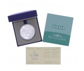 "Monnaie, France, 10 Euros BE Nana (""Nana"" de Victor Hugo), Monnaie de Paris, Argent, 2011, Pessac, P13128"