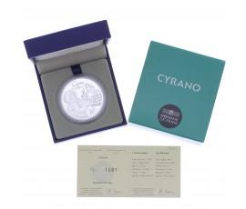 Monnaie, France, 10 Euros BE Cyrano de Bergerac, Monnaie de Paris, Argent, 2012, Pessac, P13138