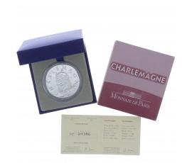 Monnaie, France, 10 Euros BE Charlemagne, Monnaie de Paris, Argent, 2011, Pessac, P13144