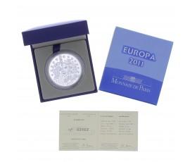 Monnaie, France, 10 Euros BE 30ème anniversaire de la Fête de la musique, Monnaie de Paris, Argent, 2011, Pessac, P13145