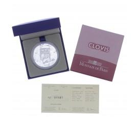Monnaie, France, 10 Euros BE Clovis Ier, Monnaie de Paris, Argent, 2011, Pessac, P13133