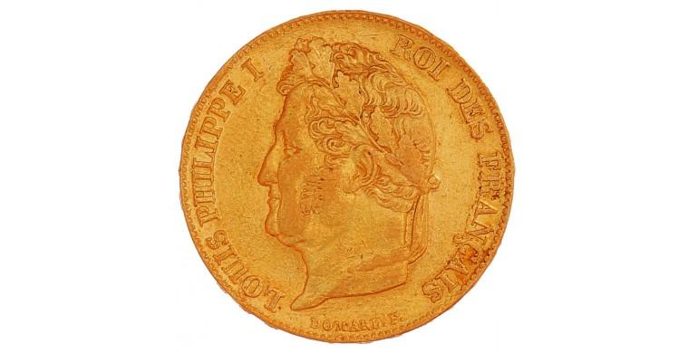 Monnaie, France, 20 Francs , Louis Philippe 1er , Or, 1838, Paris (A), P13215
