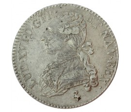 Monnaie, France , 1/2 écu aux branches d'olivier, Louis XVI, Argent, 1790, Paris (A), P10195