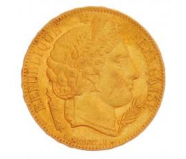 Monnaie, France, 20 Francs Cérès, IIème République, Or, 1849, Paris (A), P13221