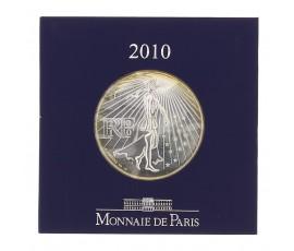 Monnaie, France , 50 € Semeuse, Monnaie de Paris, Argent, 2010, Pessac, P11143