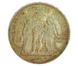 Monnaie, France , 5 francs Hercule, IIIème République, Argent, 1873, Paris (A), P11148