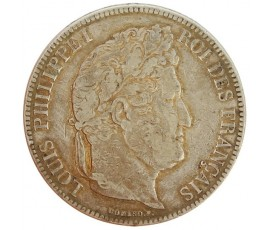 Monnaie, France , 5 francs, Louis-Philippe Ier, Argent, 1834, Paris (A), P11150