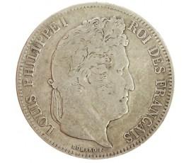 Monnaie, France , 5 francs, Louis-Philippe Ier, Argent, 1834, Marseille (MA), P11151