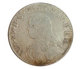 Monnaie, France , Ecu aux branches d'olivier, Louis XV, Argent, 1734, Limoges (I), P11174