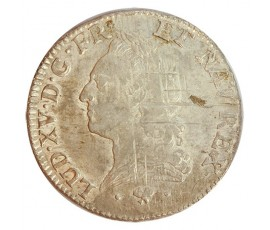 Monnaie, France , Ecu à la vieille tête, Louis XV, Argent, 1774, Bayonne (L), P11176