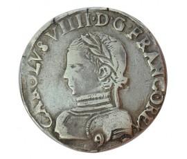 Monnaie, France , Teston, Charles IX, Argent, 1563, Rennes (9), P10202