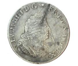 Monnaie, France , 1/2 écu de Flandre aux palmes, Louis XIV, Argent, 1694, Lille (W), P10203