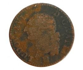 Monnaie, France , Sol, Louis XVI, Cuivre, 1786, Bordeaux (K), P11211